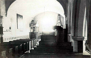 The nave and chancel about 1900 [X21/756/6]
